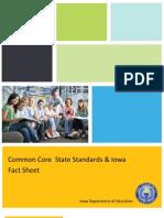 Common/Iowa Core 2010 comparison