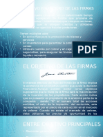 Objetivos de Las Firmas