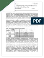 Evaluación de La Obtención de Cromosomas Humanos a Partir de Cultivo de Linfocitos
