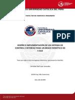 Luyo Christian Sistema Control Interfaz Brazo Robotico