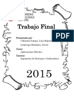 Trabajo Final Aplicaciones Moviles