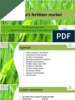 SukumaranNair - India's Fertilizer Market