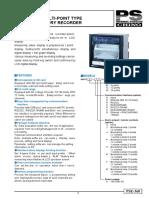 CHINO AH4000 Datasheet