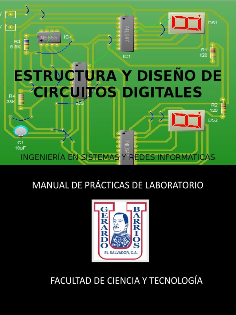 Nuevo Manual de Estructura y Diseño de Circuitos Digitales-Arduino
