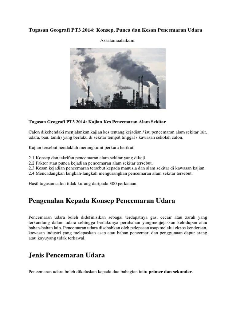 Konsep Pencemaran Udara Docx