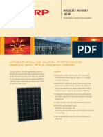 Sharp Solar Panel Specifications