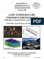 Low-temperature Thermochronology Techniques, Interpretations and Applications