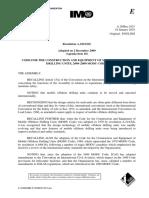 A.1023(26) MODU Code (2009)