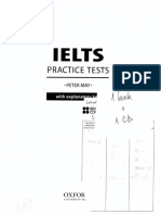 Ielts Practice Tests With Explanatory Key