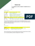 YZ250F Matlab Documentation
