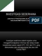 5a Investigasi Sederhana