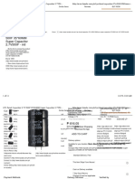 1PC Farad Capacitor 2.7v 500fm35*60 Super Caps