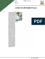 Consegnato al fisico Rovelli il Sigillo di Ateneo - Il Corriere Adriatico del 13 luglio 2017