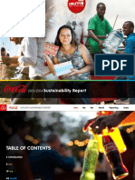 2013 2014 Coca Cola Sustainability Report