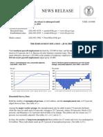 US Dept. of Labor (Bureau of Labor Statistics) Employment Situation _June 2010
