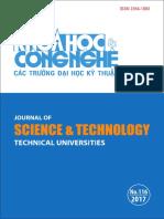 Tạp chí Khoa học và Công nghệ – Số 116 (01/2017)