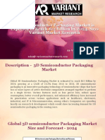 3D Semiconductor Packaging Market
