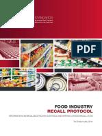 f Sanz Food Recall Protocol 2014