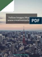Yellow Images Mockups