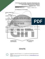 Surat Ijin Peminjaman LCD