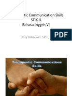Communication Therapeitic