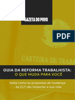 Guia - Reforma Trabalhista