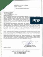 Laporan Keuangan Audit 2011