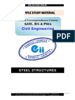 Gate Ies Postal Studymaterial for Steel Structure Civil