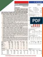 Tata Steel - Q3FY17 Result Update - Centrum 07022017