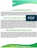1Z0-965 Dumps - Oracle Human Capital Management Exam