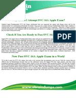 SVC-16A Dumps - SVC-16A Apple Service Fundamentals Exam