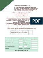 Calcul Du Bordereau de Paiement à La CNSS