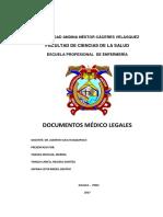 Domumentos Medico Legales Expo