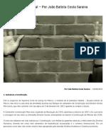 O Brasil e a Idade Penal – Por João Batista Costa Saraiva _ Empório Do Direito