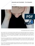 Ato Infracional e o Adolescente Sem Gravidade – Por Alexandre Morais Da Rosa _ Empório Do Direito