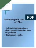 Neutron Capture Cross Section of 139_La
