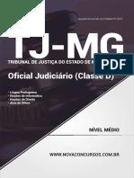 Ab020 - 2017 - Tj - Mg - Oficial Judici Rio Classe d - 497 p Ginas
