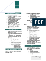 5. Blood Physiology Part 1 Dr. Olivar