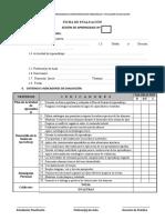 Ficha de Evaluación