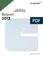 Clariant_SustainabilityReport_2013