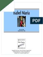 Isabel Maria (Score)