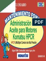 MANTENIMIENTO FOWA - ACEITE