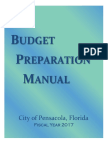 FY17 Budget Prep Manual