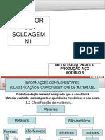 6 Metalurgia Da Soldagem-Parte I. Início Produção Aço-RESUMO