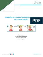 Desarrollo de las funciones ejecutivas