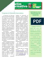Boletim Informativo 01 2013