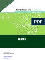 Regiões de Influência das Cidades 2007 - IBGE