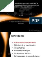Desarrollo de Una Herramienta de Auditoru00eda de Seguridad de La Informaciu00f3n Aplicada a La Gestiu00f3n de Continuidad de Negocios
