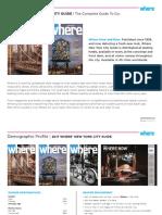 Where New York Media Kit – Updated 7.14.17