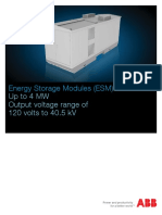 Energy Storage Modules Brochure Rev E